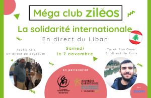 2020-11-16 - Article : Méga Club sur la solidarité internationale (en direct du Liban)