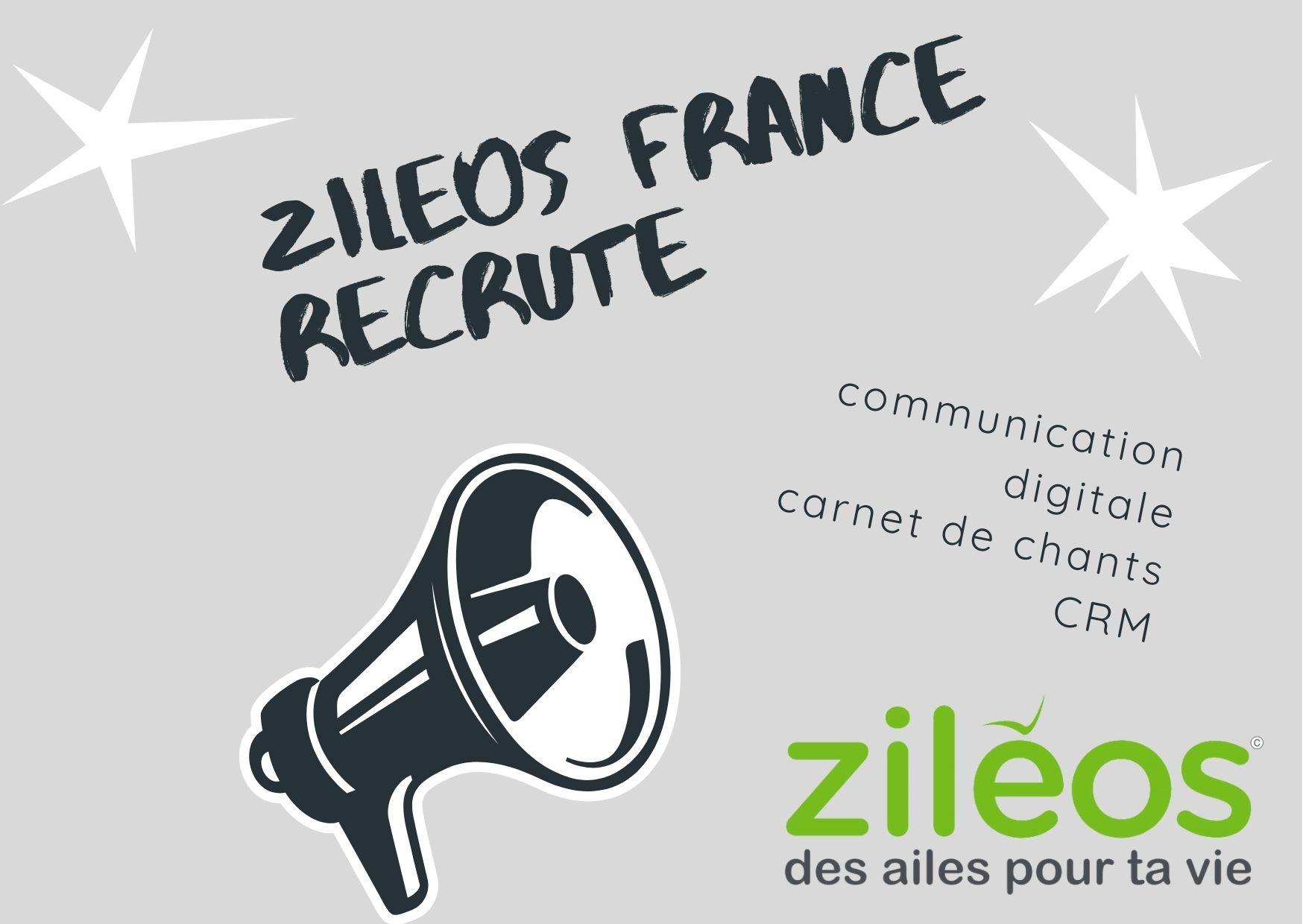 2021-07-30 Ziléos France recrute ! - Service civique